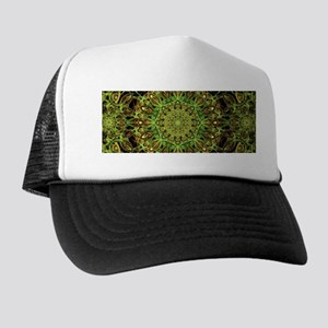 Forest Star Mandala Trucker Hat