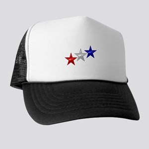 Three Shiny Stars Trucker Hat