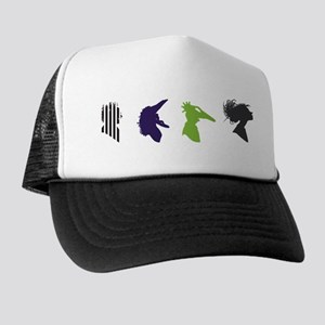 beetlejuice Silhouettes Trucker Hat