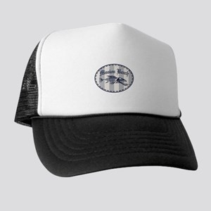 4b4f6352bec47 Ocean Beach Trucker Hats - CafePress