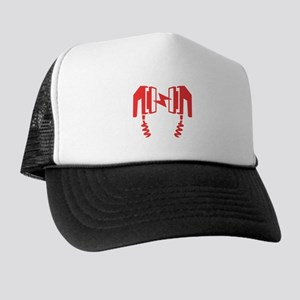 quality design 35603 fb3b3 Red Defibrillator Trucker Hat