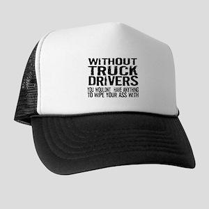 4cd354d3 Truck Driver Trucker Hats - CafePress