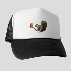 Squirrel Acorn Fork Trucker Hat