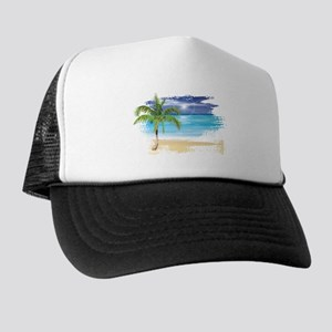 d86033db33fcac Beach Scene Trucker Hat
