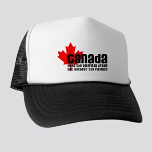Canada & The American Dream Trucker Hat