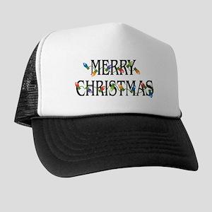 2dd50e09ef92e Merry Christmas Trucker Hat