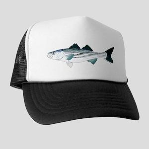 super popular f39f9 bd432 Striped Bass v2 Trucker Hat