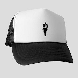 Big Obama Silhouette Trucker Hat
