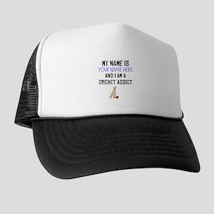 Custom Cricket Addict Trucker Hat