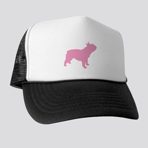 Pink French Bulldog Trucker Hat