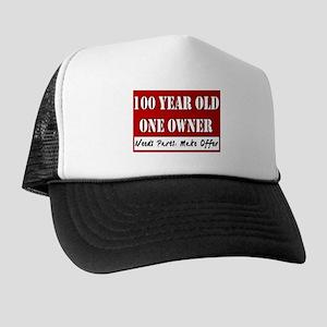 100th Birthday Trucker Hat