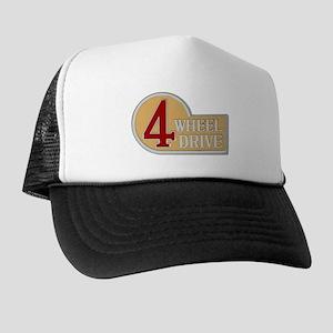 Trucker Hat - 4 Wheel Drive logo