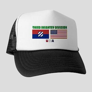 NEW! 3ID USA - Trucker Hat