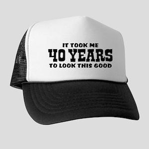 Funny 40th Birthday Trucker Hat