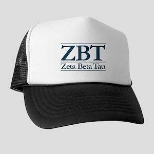 Zeta Beta Tau Fraternity Trucker Hat