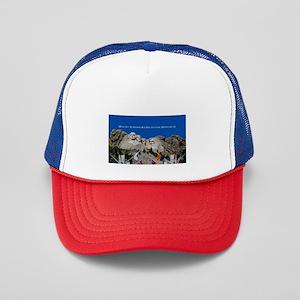 Mount Rushmore Customizable Souvenir Trucker Hat