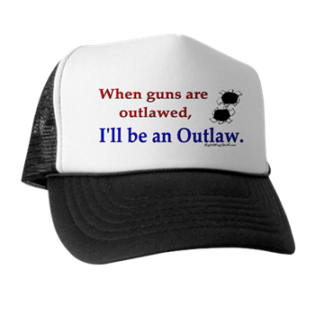 Outlaw Trucker Hat   Outlaw    RightWingStuff - Conservative Anti Obama T- Shirts 151b3238d6d9