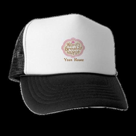 Personalized World's Greatest Nurse Trucker Hat