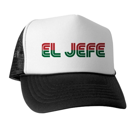 El Jefe The Boss Retro Type Design