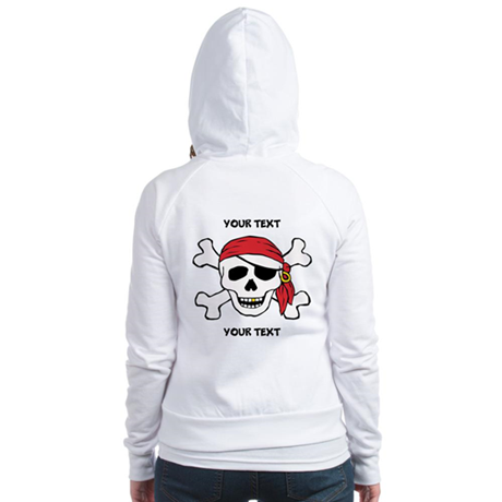 PERSONALIZE Funny Pirate Jr. Hoodie