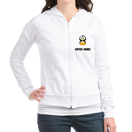 Penguin Personalize It! Fitted Hoodie