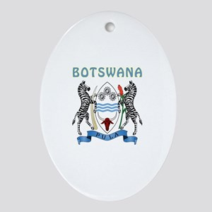 Botswana Coat of arms Ornament (Oval)