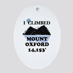 Mount Oxford Ornament (Oval)