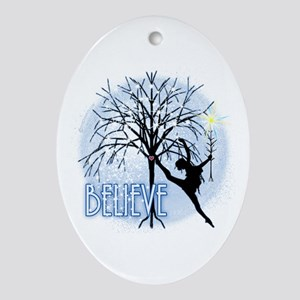 Star Believer by DanceShirts.com Ornament (Oval)