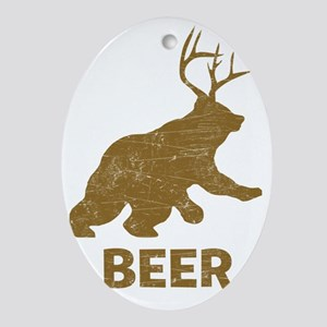 beer_wh2 Oval Ornament