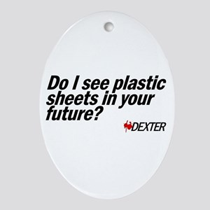 Plastic Sheets - Dexter Oval Ornament