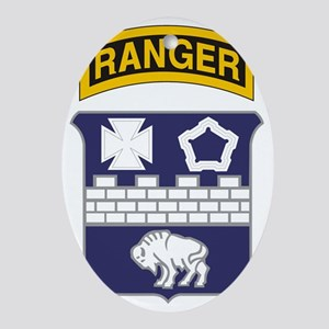 17th Ranger Oval Ornament