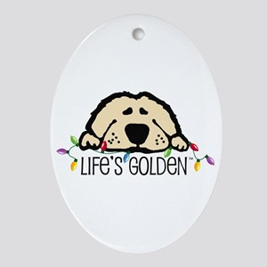 Life's Golden Christmas Keepsake (Oval)
