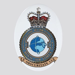 1 Photo Recon Unit RAF Oval Ornament