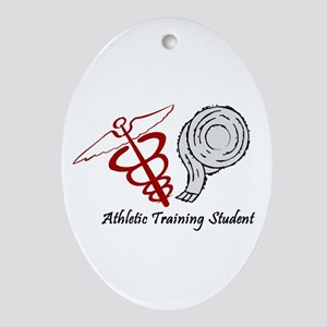 Athletic Training Student Oval Ornament