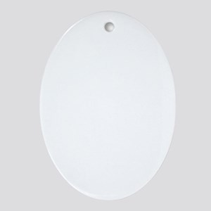 Bah Humbug! Oval Ornament