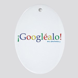 Googlealo Ornament (Oval)