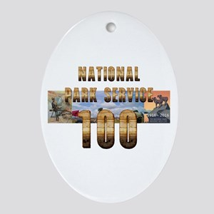 ABH NPS 100th Anniversary Oval Ornament