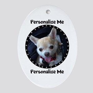 Personalized Pet Oval Ornament