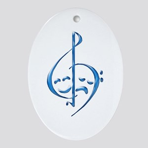 Musical Theatre Oval Ornament