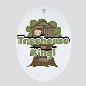 treehouseking Oval Ornament