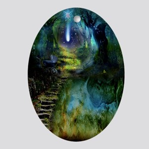 Mystical Entry Oval Ornament