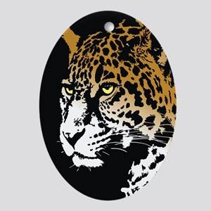 Jaguar Oval Ornament