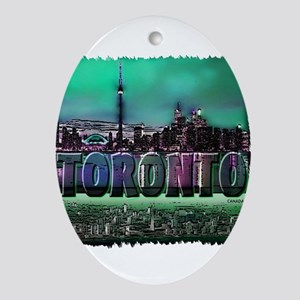Toronto Ornament (Oval)