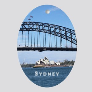 Sydney Ornament (Oval)