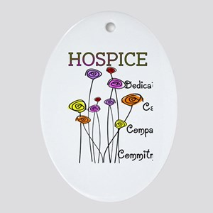 HOSPICE Ornament (Oval)