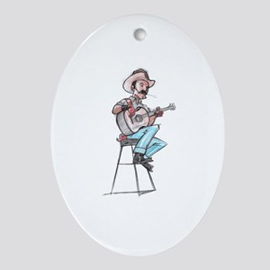 Unplugged Ornament (Oval)