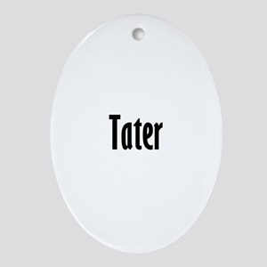 tater Oval Ornament