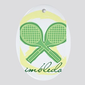 Wimbledon Oval Ornament