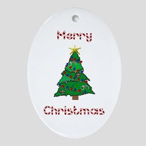 Police Christmas Ornaments.Christmas Tree Police Officer Ornaments Cafepress
