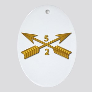 2nd Bn 5th SFG Branch wo Txt Oval Ornament